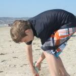 Curtis at the Beach