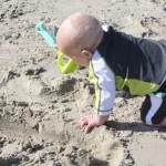 Gianluca loves the Sand