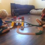 Boys and Trains