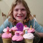 Alessia is Nine!